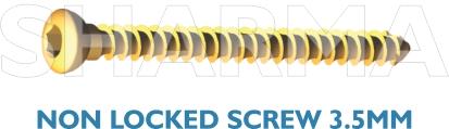 Non Locked Screw 3.5mm
