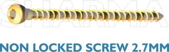Non Locked Screw 2.7mm