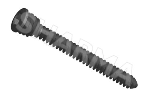 Cortex Locked Screw 2.4mm (Solid)(Hex Drive)