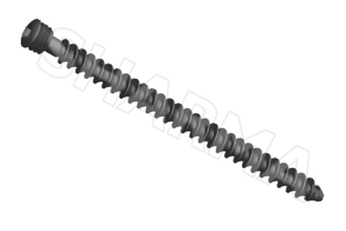 Cancellous Locked Screw 6.5mm (Cannulated & Solid) ( Hex Drive)